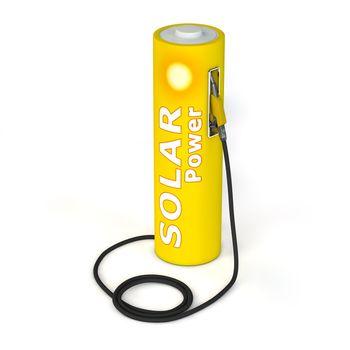 Battery Petrol Station - Solar Power