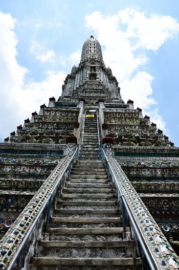 The Buddhist temple of Wat Arun in Bangkok, Thailand.