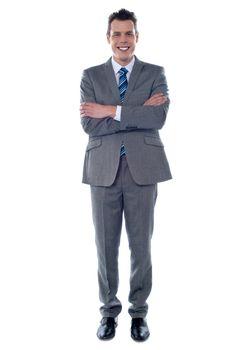 Full length shot of an entrepreneur