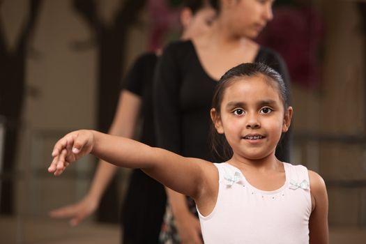 Proud Little Ballerina