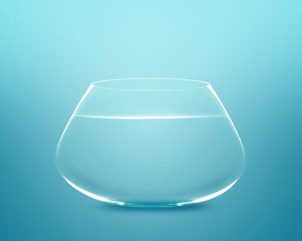 Empty fishbowl