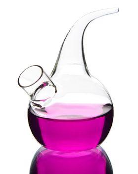 laboratory glassware isolated