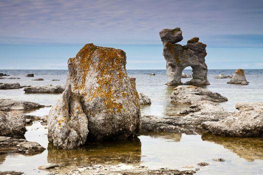 limestone pillars
