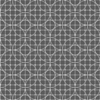 The vector abstract texture - geometric ornaments on a gray background