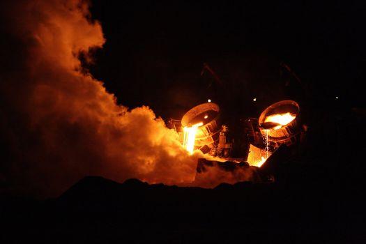 Furnace in full work