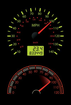 Dashboard Dial
