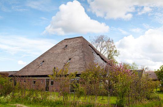 typical Dutch farm house