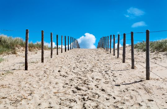 sand way to the heaven