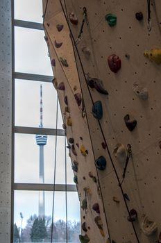Climbing Wall in Stuttgart venue