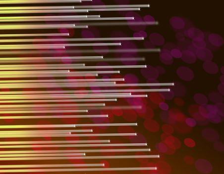 fiber optic abstract.