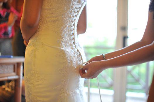 Wedding preparation