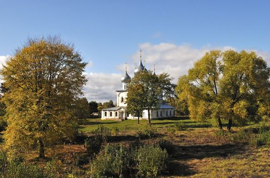 Holy Cross Cathedral in Tutaev, Russia