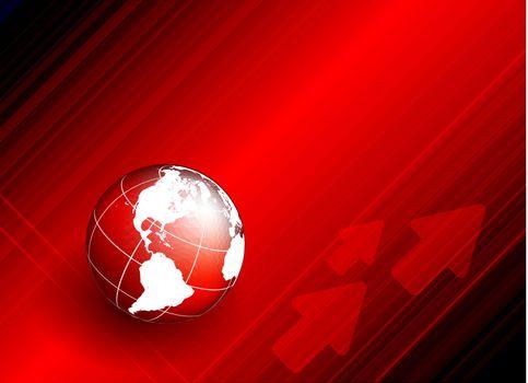 world techno backdrop