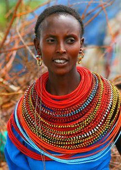 Beautiful African lady
