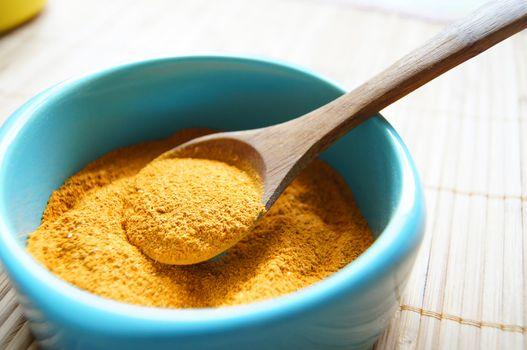 variety of spices:svan salt, saffron and coriander