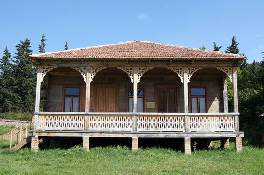 Open-air enthographical museum in the capital of Republic of Georgia - Tbilisi