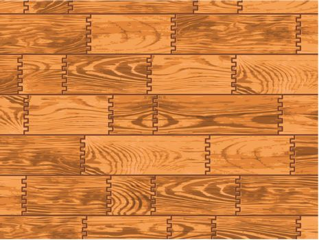 Abstract texture - wooden background. Vector planks.