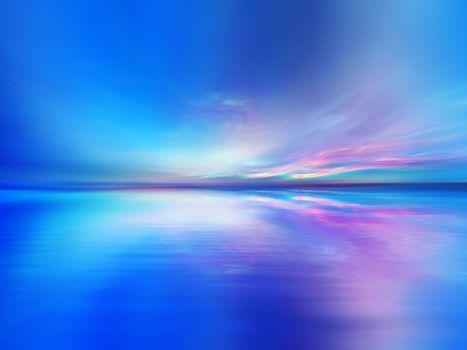 Vivid Waterscape