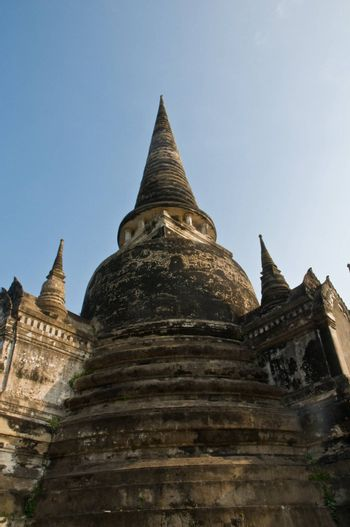 Ayutthaya city is the capital of Ayutthaya province in Thailand. Its historical park is a UNESCO world heritage.