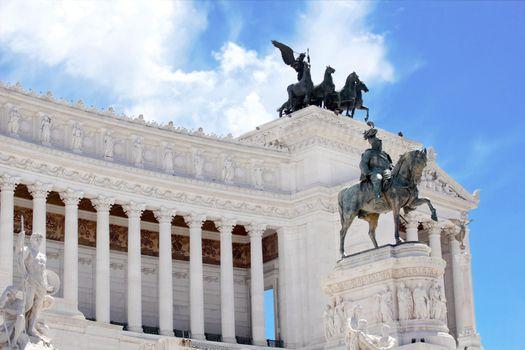Monument Vittorio Emanuele II in Roma