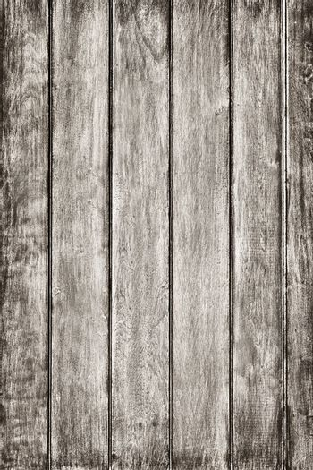 Old grunge wood panels background - vertical and gray