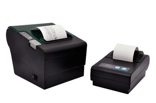 two printer  and check