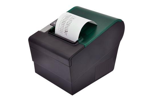 black printer and check