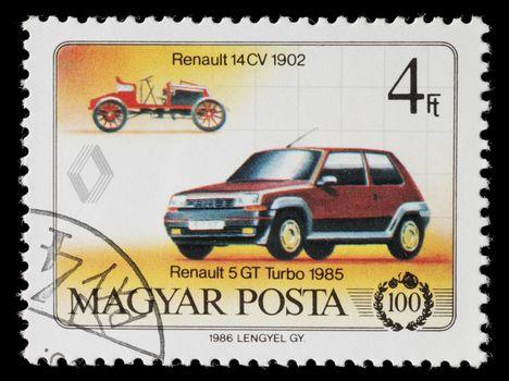 Renault Stamp