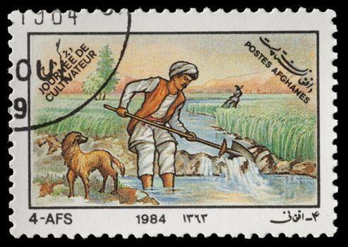 Afghan Stamp
