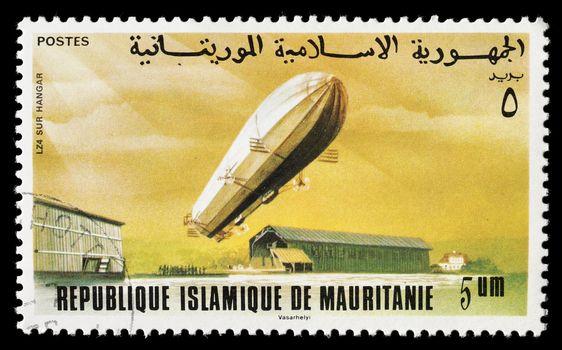Zeppelin Stamp