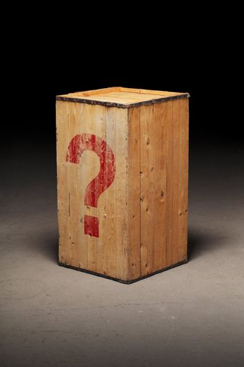 Mysterious crate