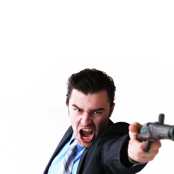 Businessman takes to gun to protect his business