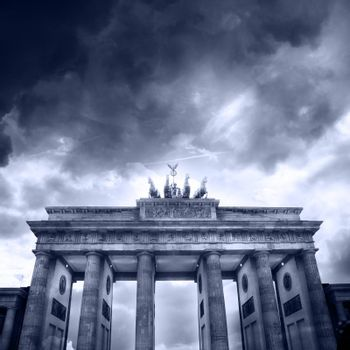 Brandenburg gate of one of the many attractions berlin