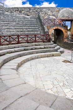 Small amphitheater in Pompeii
