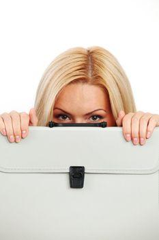 hidden behind a case