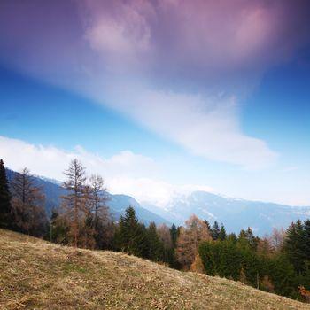 spring alps