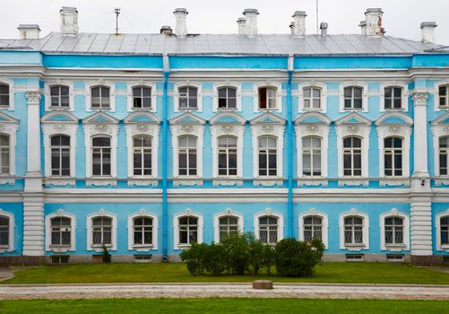 The ancient palace in Russia, St. Petersburg - Smolny Monastery