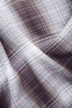Tumbled frieze fiber. Close-up color photo