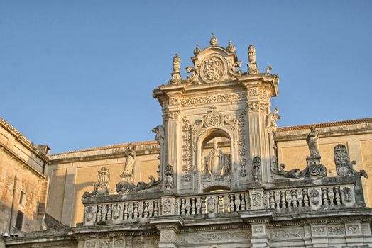 Beautiful ancient architecture of Apulia, Italy