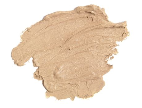 Foundation sample for fashion and beauty magazines