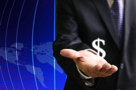 Investor show the earning of globalization