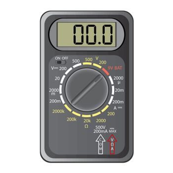 Digital multimeter.