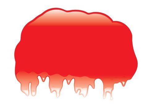 Blob dribble red