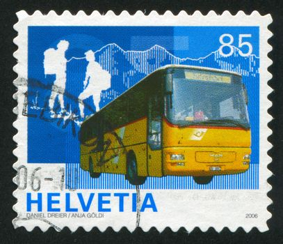 buses and passengers