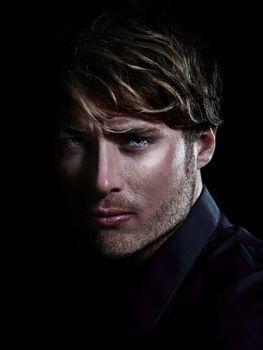 Man - male beauty portrait