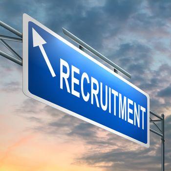 Recruitment concept.