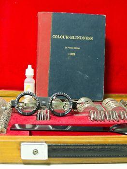 optometry lens and eyeglasses