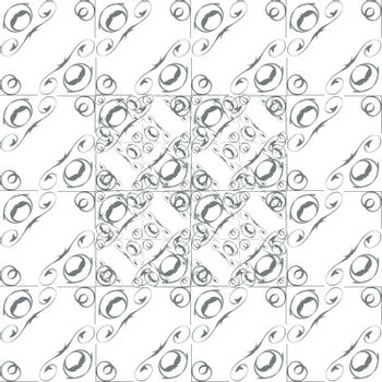 Seamless monochrome background, vector illustration