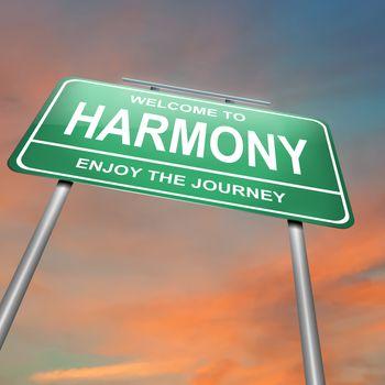 Harmony concept.