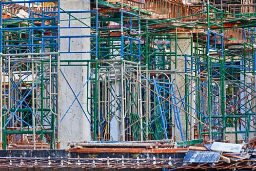 Building structures on the construction of reinforced concrete buildings